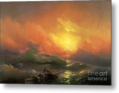 The Ninth Wave Metal Print by Aivazovsky