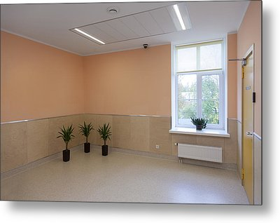 The Nursing Centre A Building In P�rnu Metal Print by Jaak Nilson