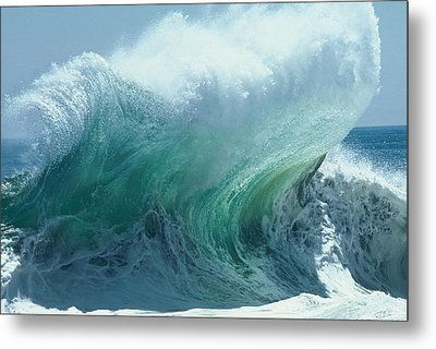 The Ocean's Might Personified Metal Print