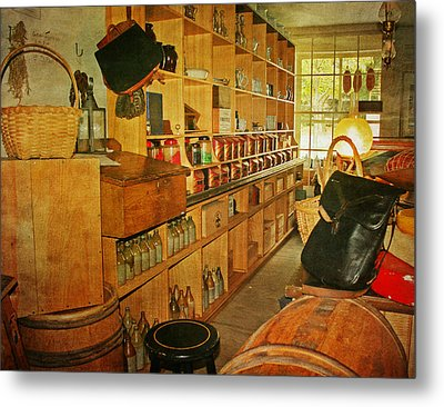The Old Country Store Metal Print by Kim Hojnacki