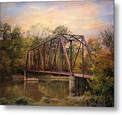 The Old Iron Bridge Metal Print by Jai Johnson