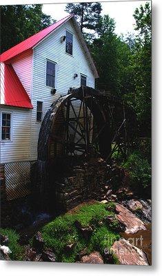 The Old Mill 1886 In Cherokee North Carolina - II  Metal Print by Susanne Van Hulst