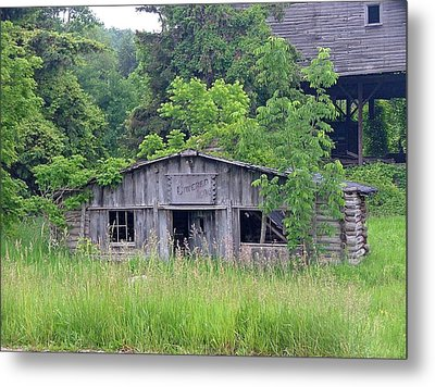 The Old Place Metal Print