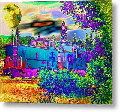 The Old Santa Fe Metal Print by Joyce Dickens