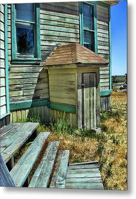The Old Schoolhouse Metal Print by Bonnie Bruno