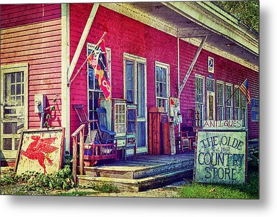 The Olde Country Store Metal Print by Kathy Jennings