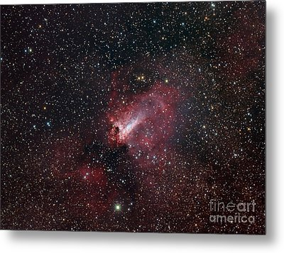 The Omega Nebula Metal Print by Filipe Alves