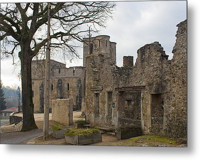 The Once Grand Town Of Oradour Metal Print by Georgia Fowler