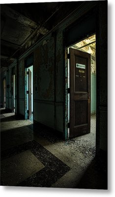 The Open Doors Metal Print by Gary Heller