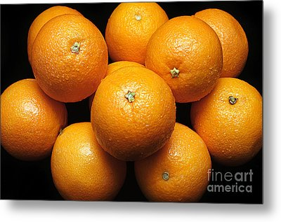 The Oranges Metal Print by Andee Design