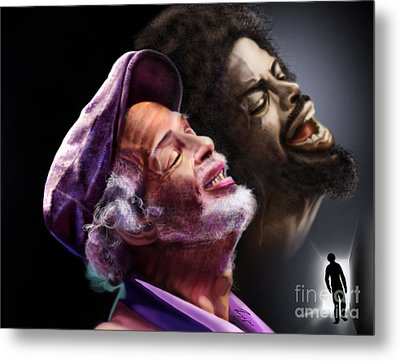 The Other Side-gil Scott Finally Going Home Metal Print by Reggie Duffie