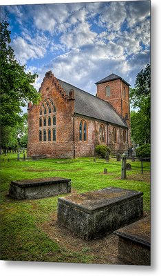The Other Side Of St Lukes Metal Print by Williams-Cairns Photography LLC