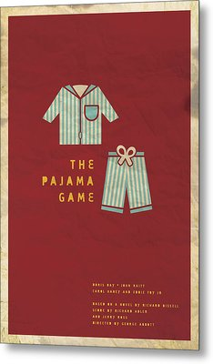 The Pajama Game Metal Print by Megan Romo