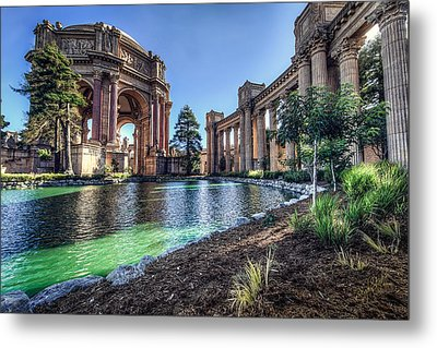 The Palace Of Fine Arts Metal Print by Everet Regal