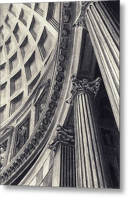 The Pantheon Metal Print by Norman Bean