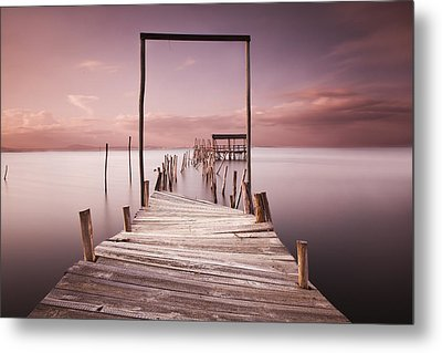 The Passage To Brightness Metal Print by Jorge Maia