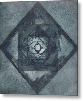 The Passionless Angle Metal Print by Rebecca Bourke