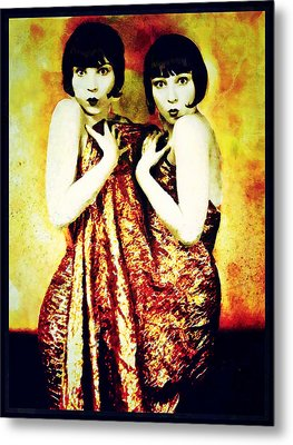 Metal Print featuring the photograph The Pearl Twins by Mary Morawska