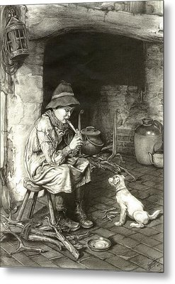 The Penny Whistle Metal Print by Ronald Osborne