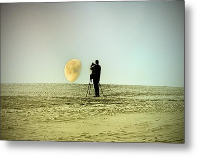 The Photographer Metal Print by Bill Cannon
