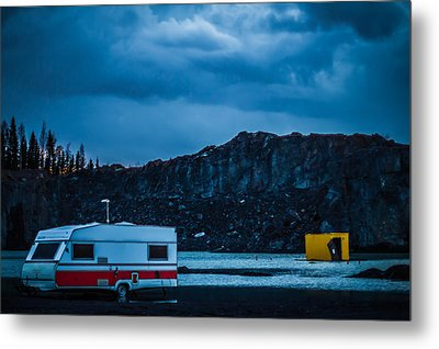 Metal Print featuring the photograph The Pit by Matti Ollikainen