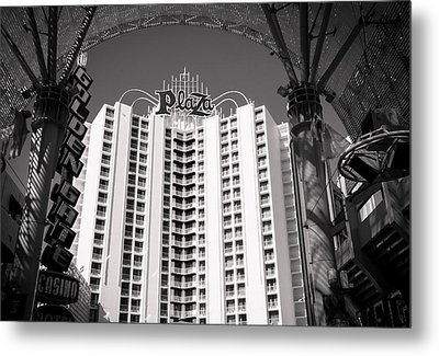 The Plaza Las Vegas  Metal Print by Susan Stone