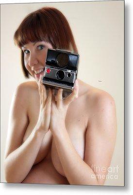 The Polaroid  Metal Print