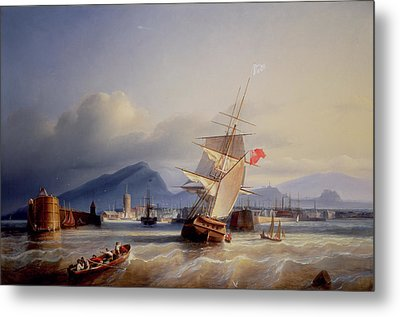 The Port Of Leith Metal Print by Paul Jean Clays