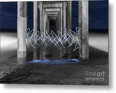 Metal Print featuring the photograph The Portal by Sonny Marcyan