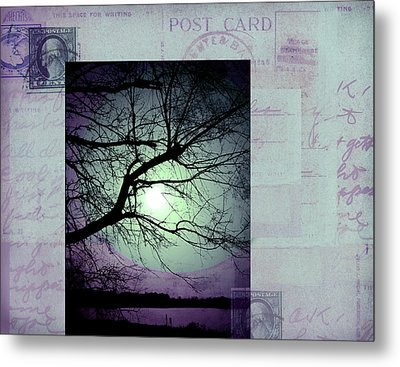 The Postcard IIi Metal Print by Ann Powell