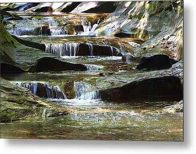 The Potholes Metal Print