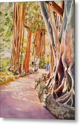 The Power Of The Banyan Metal Print by Terry Arroyo Mulrooney