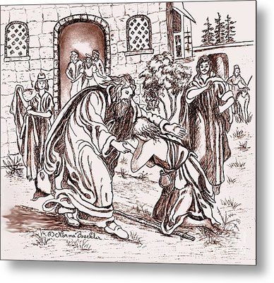 The Prodigal Son Metal Print by Norma Boeckler