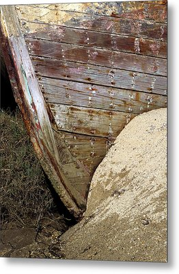 The Pt Reyes Abstract Metal Print by Bill Gallagher