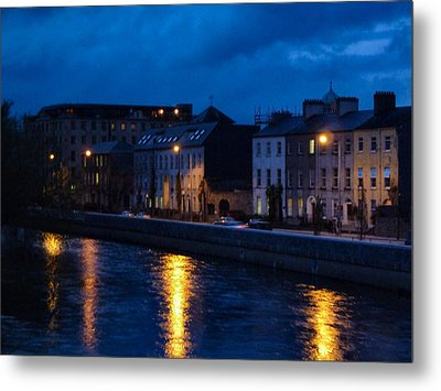 The Quay's Metal Print