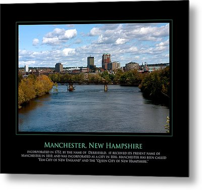 The Queen City Metal Print by Jim McDonald Photography
