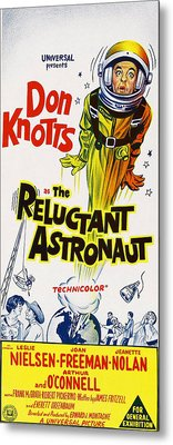 The Reluctant Astronaut, Upper Right Metal Print by Everett