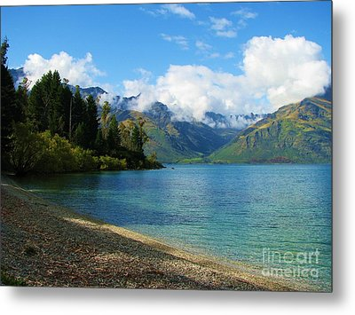 Metal Print featuring the photograph The Remarkables by Michele Penner