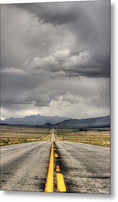The Road Metal Print by Stellina Giannitsi
