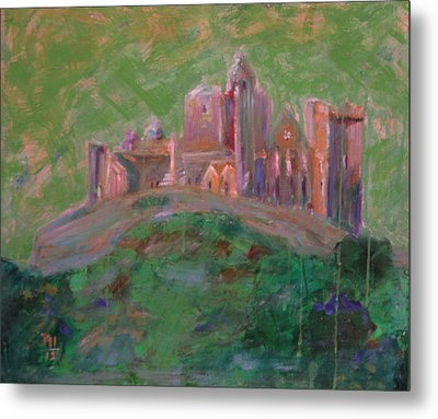 The Rock Of Cashel Metal Print by Rosemen Elsayad