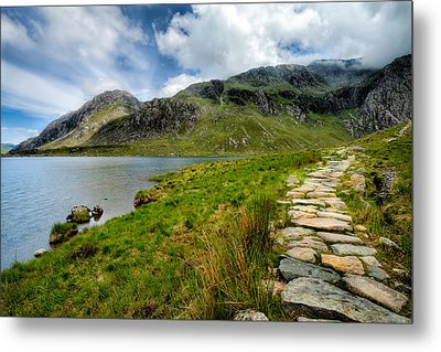 The Rocky Path Metal Print by Adrian Evans