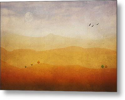 The Rolling Hills Metal Print by Tom York Images