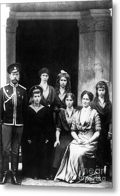 The Romanovs Metal Print by Science Source