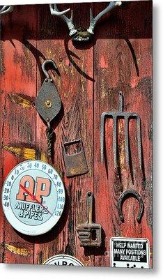 The Rusty Barn - Farm Art Metal Print by Paul Ward
