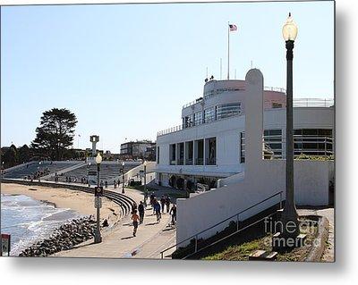 The Sala Burton Building . Maritime Museum . San Francisco California . 7d13993 Metal Print by Wingsdomain Art and Photography