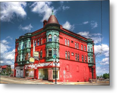 The Sauter Building Metal Print by Dan Stone