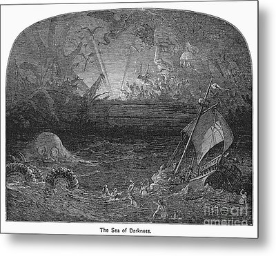 The Sea Of Darkness Metal Print by Granger
