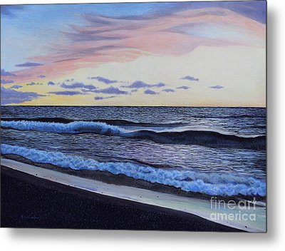 The Sea Was Angry That Day My Friends... Metal Print by Dan Lockaby