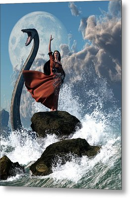 The Sea Witch Metal Print by Daniel Eskridge