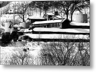 The Self-designed Home Of Architect Metal Print by Everett